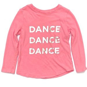 Children's Place Dance Ballet Graphic Tee 4T